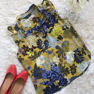 LOFT Ann Taylor Petite Sleeveless Blouse Size SP